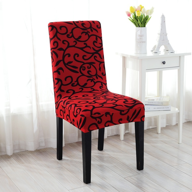 Dining Chair Trends For 2016: 2016 Universal Stretch Printing Chair Seat Cover For Home