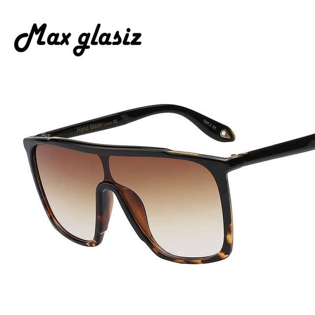 f255b0e52b Max glasiz 2017 summer style classic women sun glasses big square uv400  oversized frame sunglasses gradient