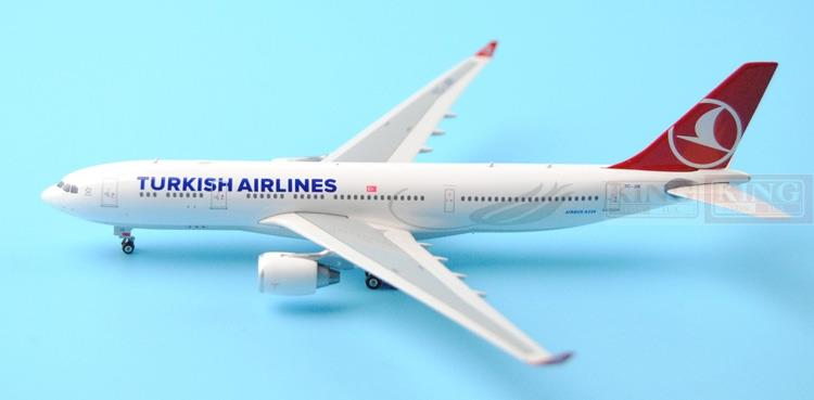Phoenix 11128 Turkey Airlines TC-JIR 1:400 A330-200 commercial jetliners plane model hobby sale phoenix 11221 china southern airlines skyteam china b777 300er no 1 400 commercial jetliners plane model hobby
