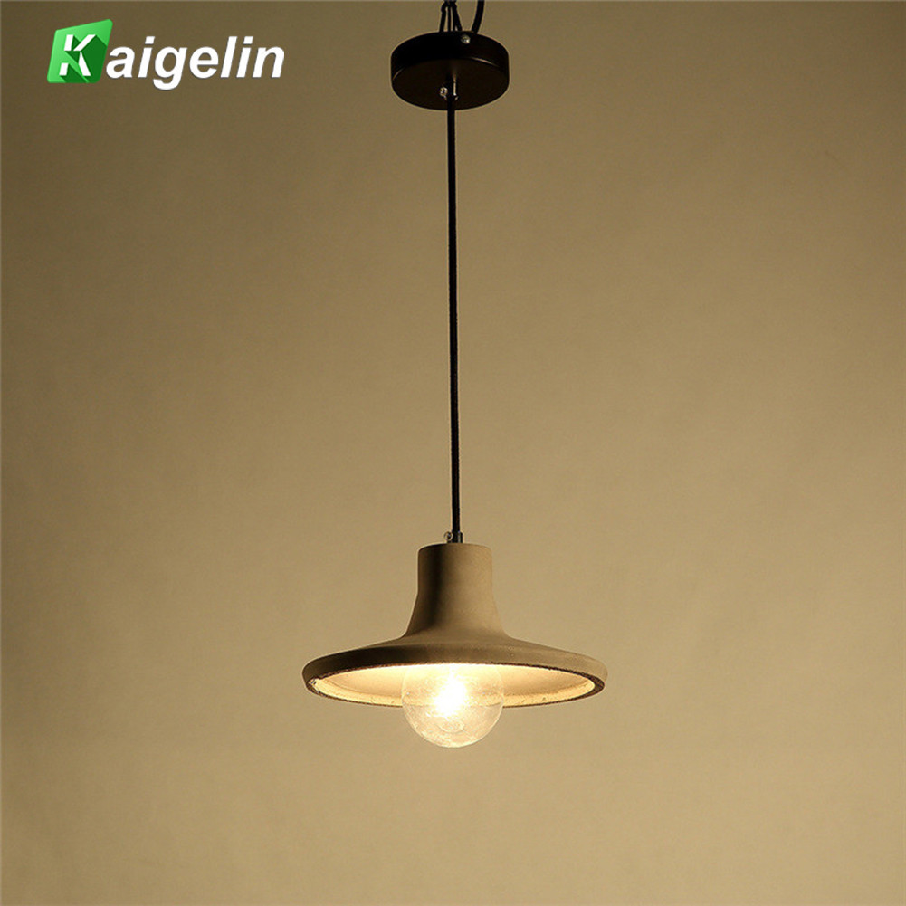 Innovative Art Vintage Pandent Light Industrial Style Wall Sconce Cement Ceiling Lamp For Coffee House Dining Bar Counter Aisle