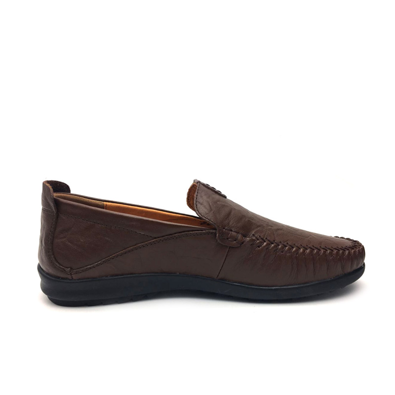 Genuine Leather Shoes Men Handmade Casual Men Flsts Shoes Slip On Leather Loafers Moccasins  Driving Shoes Sapatos Homens