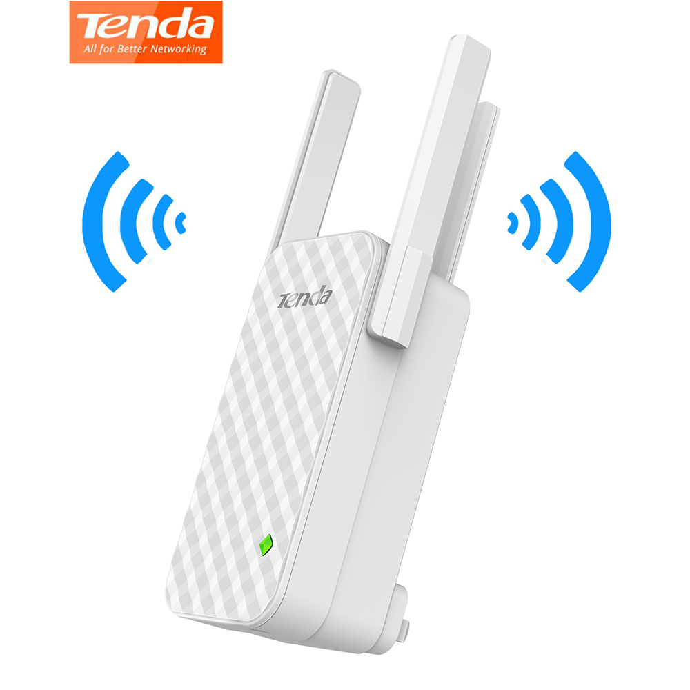 Tenda A12 Wireless WiFi Repeater Universal 300Mbps Range Extender Enhance AP Receiving Launch High Compatible with Router