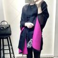 Luxury brand scarfs Italy Big Size Brand Cashmere Scarves Karl Desinger Fur Bandana Poncho Blanket Pashmina Shawl Winter Echarpe