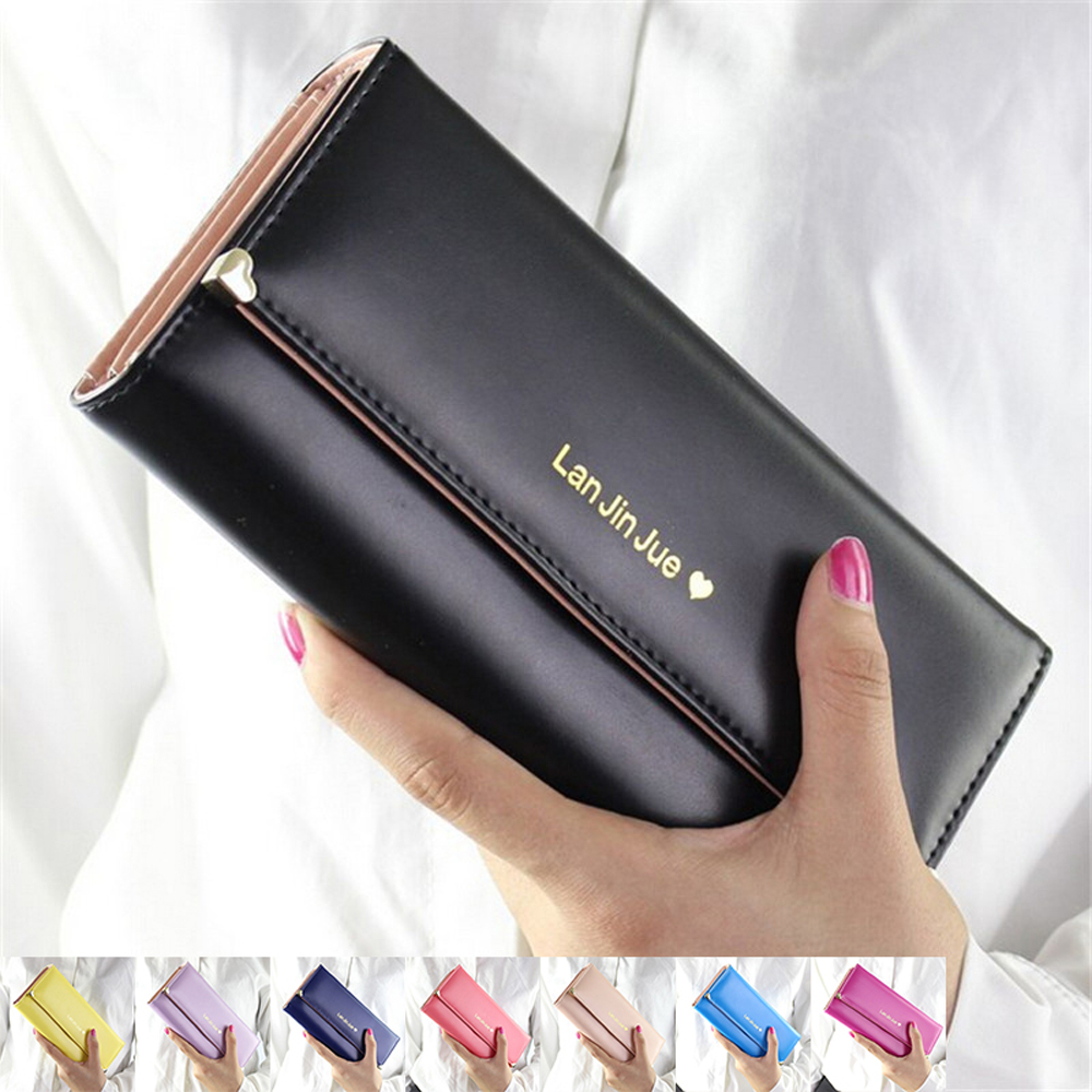 Designer Famous Luxury Brand Long Women Wallets Lady Female Card Coin Purse Carteras Walet Money Cuzdan Pocket Vallet Clutch Bag baellerry man wallets portefeuille homme card holder coin pocket cuzdan rfid male cuzdan purse clutch short purse with 6 styles