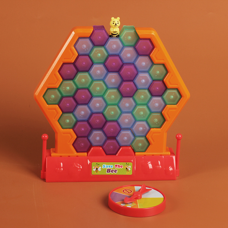 Bee Blocks Pile Up Board Game Funny Playing One Set ...