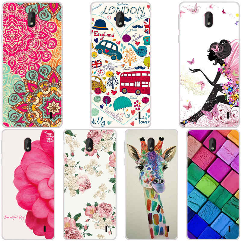 For Nokia 1 plus 2019 TPU Case Cute Silicone Soft Back Cover Phone Fundas For Nokia 1plus 1 plus Cases Capas 5.45 inch