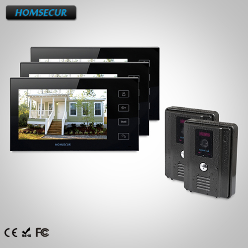 HOMSECUR 7 Wired Video&Audio Smart Doorbell+Intra-monitor Audio Intercom TC011-B Camera + TM704-B MonitorHOMSECUR 7 Wired Video&Audio Smart Doorbell+Intra-monitor Audio Intercom TC011-B Camera + TM704-B Monitor