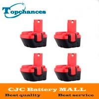 4PCS High Quality New 12V 3000mAh Ni MH Battery For Bosch GSR 12 VE 2 3000mAh