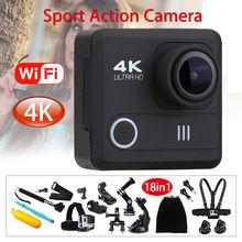 M21 4K 1080P 12MP WiFi Sport Action Camera 2.0″ LCD HD Helmet DVR Camcorder Waterproof + 18in1 Accessories Kit