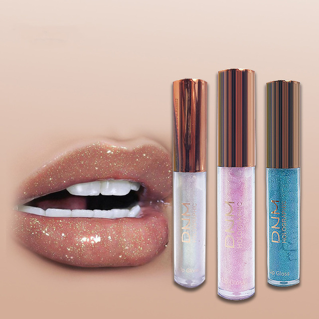 DNM marca duradera crema hidratante brillo de labios tinte cosméticos nutritivos Shimmer lápiz labial líquido belleza labio maquillaje TSLM2