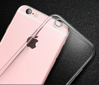 Ultra Thin Soft TPU Gel Original Transparent Case For IPhone 6 6S Crystal Clear Silicon Back