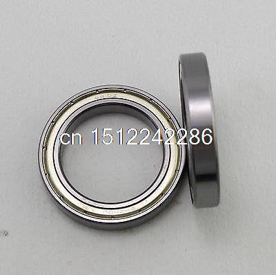 5pcs 50 x 72 x 12 mm 6910ZZ Shielded Model Thin-Section Ball Thrust Bearing