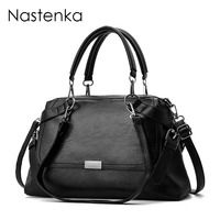 Nastenka Women Bag Casual Totes Handbags Women Shoulder Bags Sac Femme Crossbody Large Capacity Bag Simulation Genuine Leather