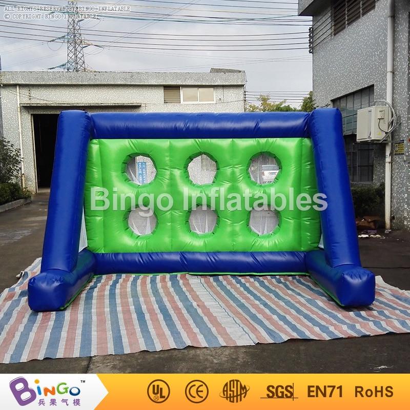 Aliexpress Com Buy G319 Soccer Shooting Custom: Kids Shooting Practise Inflated Soccer Goal Set Inflatable
