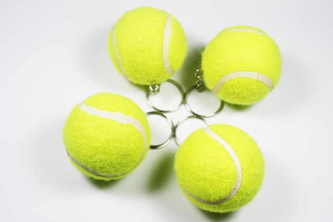 Detail Feedback Questions About New Design Tennis Ball Key Chain Car