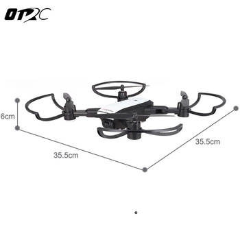 GPS Quadcopter Foldable RC Drone 2MP Camera 1