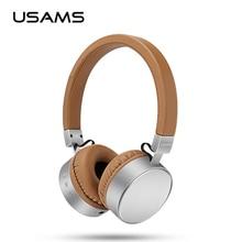 Original USAMS auricular bluetooth Estéreo Bajo Pesado Micrófono inalámbrico de auriculares para ordenador teléfono de la música