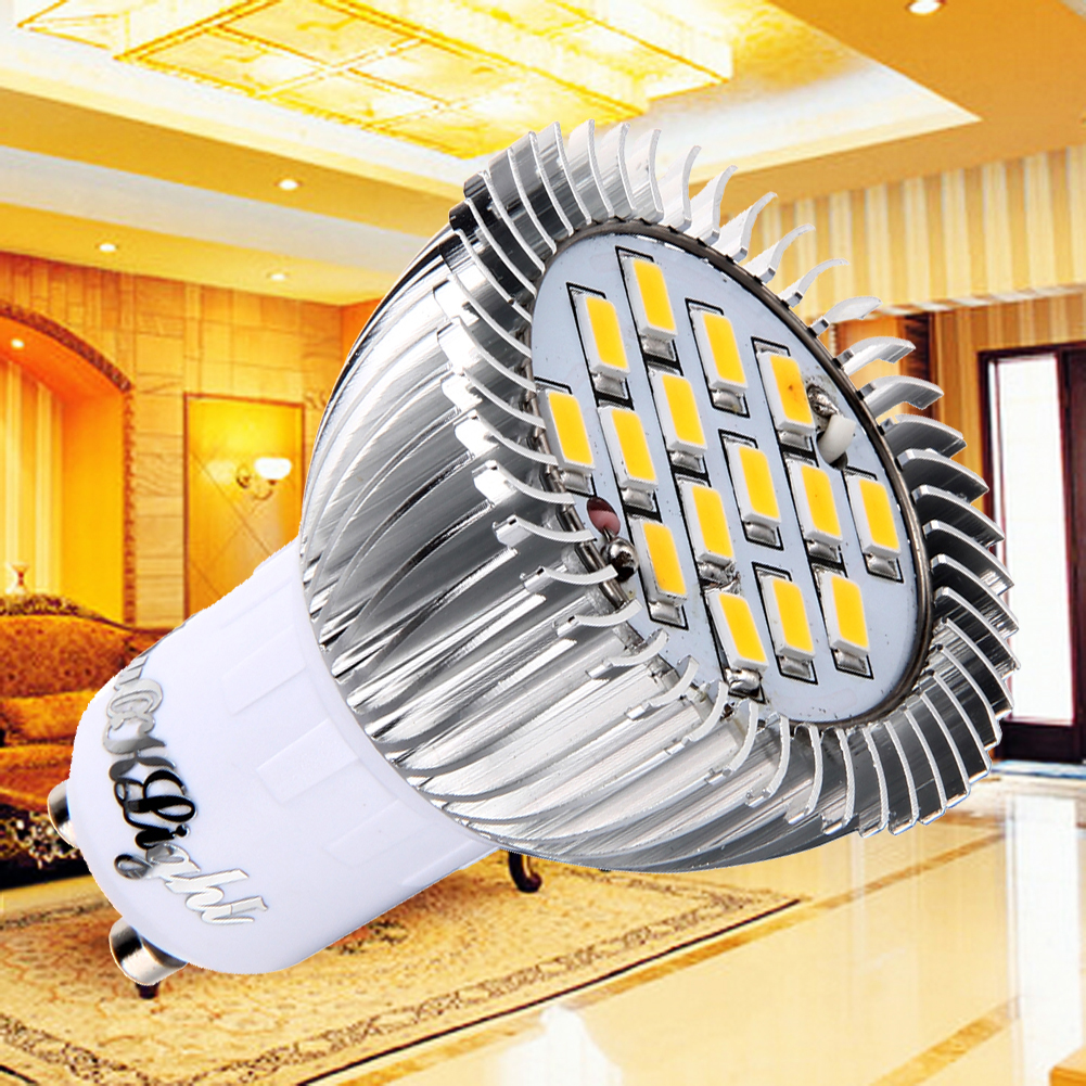 GU10 7.5W  Warm White 3000K 700lm 15-SMD5630 LED Corn Bulb Spotlight(AC 85~265V) for home indoor offices restaurants MFBS cxhexin g9cx24 5630 g9 5w 3000k 400lm 24 5630 smd led warm white light bulb white ac 85 265v