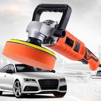 1580W 220V Grinder Mini Polishing Machine Car Polisher Sanding Machine Orbit Polish Adjustable Speed Sanding Waxing Power Tools