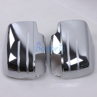 Accessories For ISUZU DMAX D MAX D MAX 2012 2013 2014 2015 Door Mirror Cover Rear View Overlay Panel Frame Chrome Car Styling