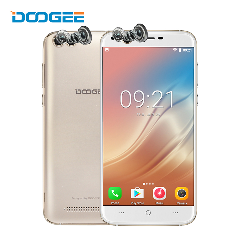 Doogee X30 5 5 Inch Smartphone Quad Camera 8 0MP 8 0MP Android 7 0 2GB