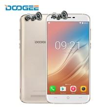 Doogee X30 5.5 дюймов смартфон Quad Камера 8.0MP + 8.0MP Android 7.0 2 ГБ Оперативная память 16 ГБ Встроенная память 4 ядра 3360 мАч 3 г мобильный телефон Celular