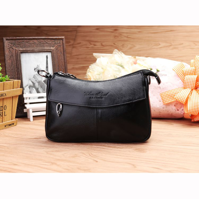 CHEER SOUL Genuine Leather Women's Handbags Casual Small Shoulder Bag Messenger Bag For Lady Flap Cow Leather Crossbody Bag #075 2018 new casual women handbags genuine leather tasteful cow leather bag lady shoulder crossbody messenger bags stewardess flap