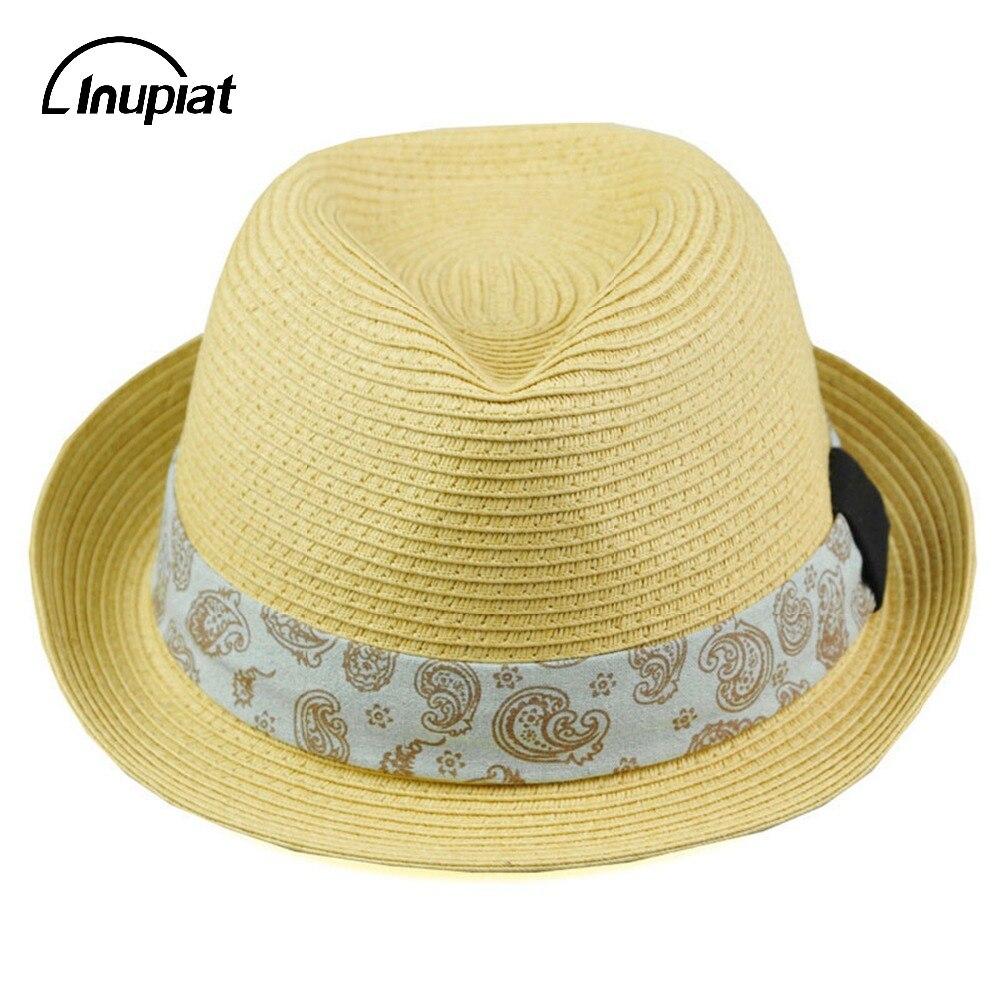 Women s Men s Hats for Summer 2018 Unisex Straw UV Protection Panama Hat  for Men Women Fashion Beach Cap 98aa185433b