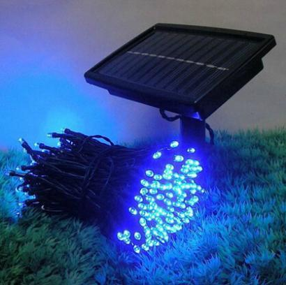 22 m 200 LED Luz Solar Cordas Lâmpada Para O Feriado de Natal Decoração do partido Uso Lâmpada LED String Por Sensor de Luz Não radiação
