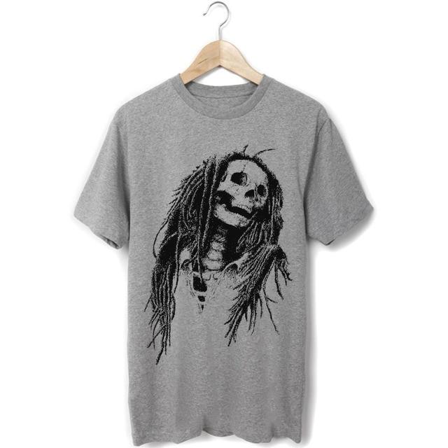 bob marley reggae fashion lion black and white skull design rasta