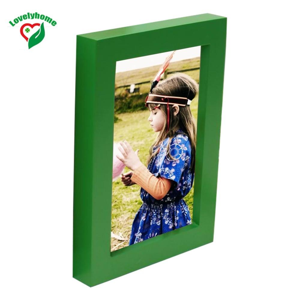 Heißer Verkauf Grün Frames Hohe Qualität Vintage Bilderrahmen Holz ...