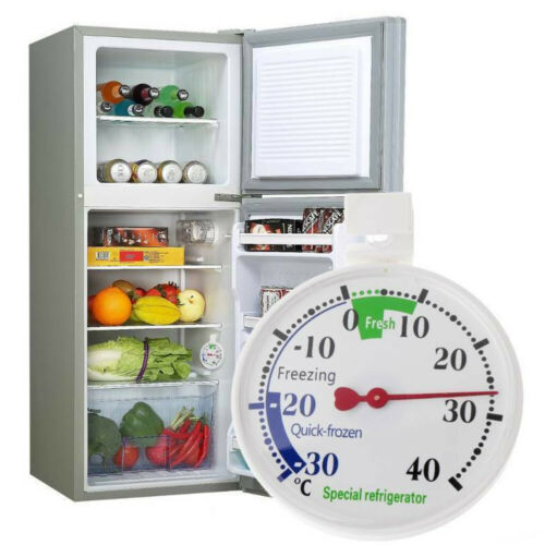 Refrigerator Dial Pointer Fridge Useful Thermometer Freezer Temperature New