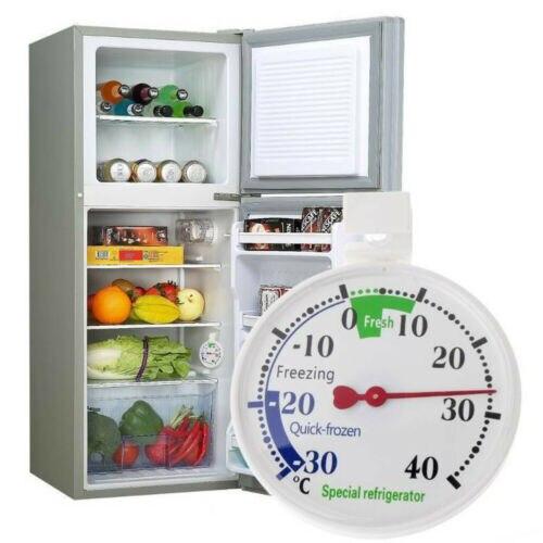 Refrigerator Dial Pointer Fridge Useful Thermometer Freezer Temperature New