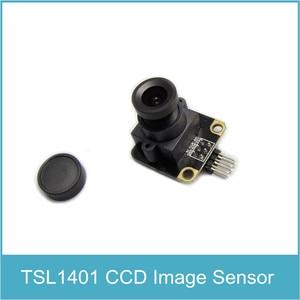 Image 1 - TSL1401CL 128X1 ליניארי CCD מצלמה חיישן תמונה ליניארי חיישן מתכוונן op amp
