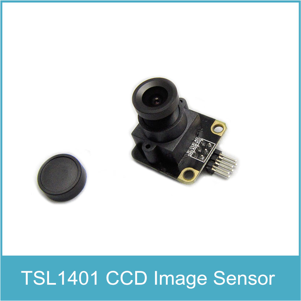 TSL1401CL 128X1 Linear CCD Camera Sensor Linear Image Sensor Adjustable op amp