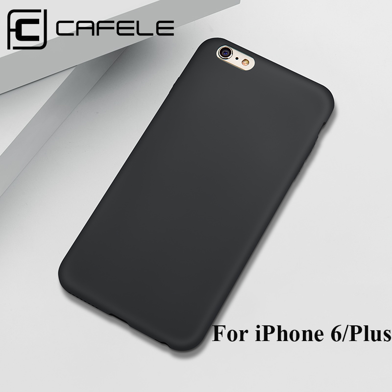 CAFELE Handyhülle für iPhone 6 6s Plus Hülle Matte PP Silikonhülle für iPhone 6 6s Plus Mode Rückseite Cover Shell Anti Fingerprit