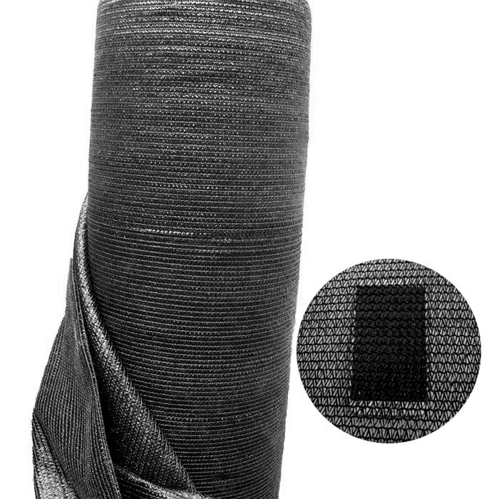 70% 6.5'x10'(2x3Meters) Black Sun Barrier Netting Mesh Shade Sunblock Shade Cloth UV Resistant Net For Garden Flower Plant