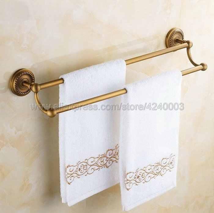 Antyczny mosiądz łazienka sprzętu półka na ręczniki wieszak na ręczniki uchwyt na papier tkaniny hak łazienka akcesoria do montażu na ścianie Kxz005