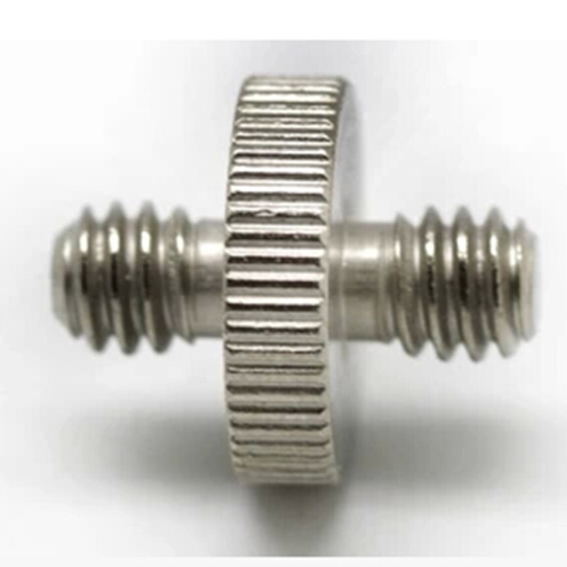 Camera & Photo Accessories Aggressive 2pcs New Metal 1/4 Male Thread To 1/4 Male 1/4-1/4 Thread Double Male Screw Convert Adapter For Tripod Light Umbrella Holder