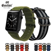 Eastar Hot Sell Nylon Watchband for Apple Watch Ba ...