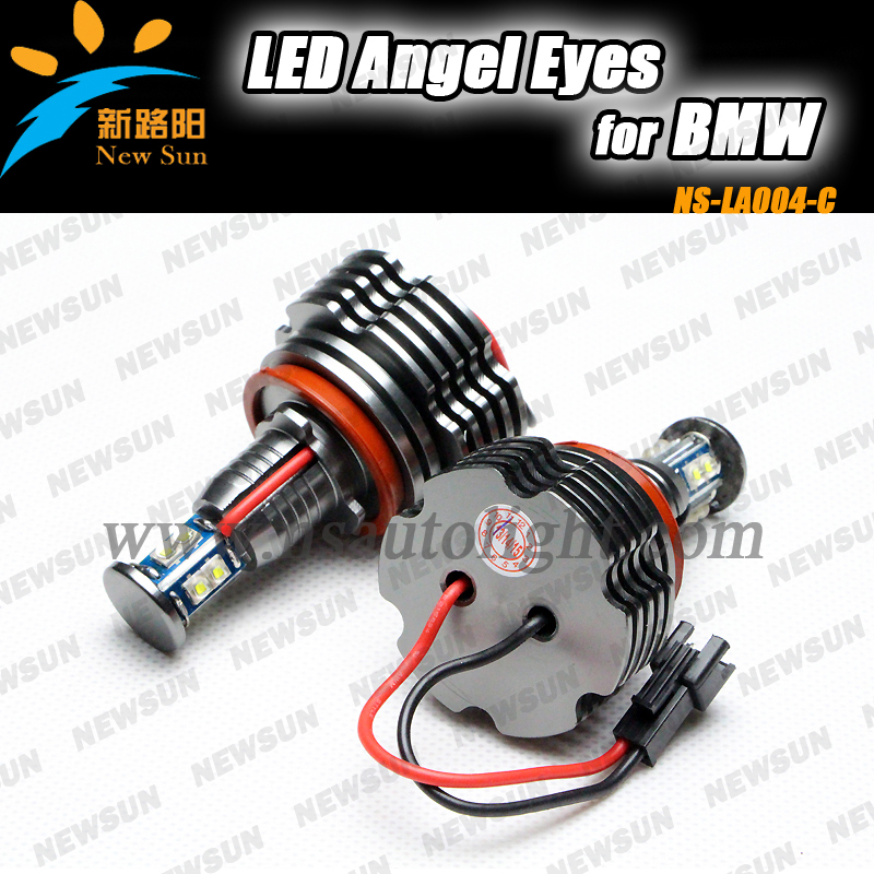 Super brightness!40W  H8 CANBUS LED ANGEL EYES for BMW E87/E82/E92/E93/E70/E71/ F01/F02 /E89/E63/E64 LED Marker light