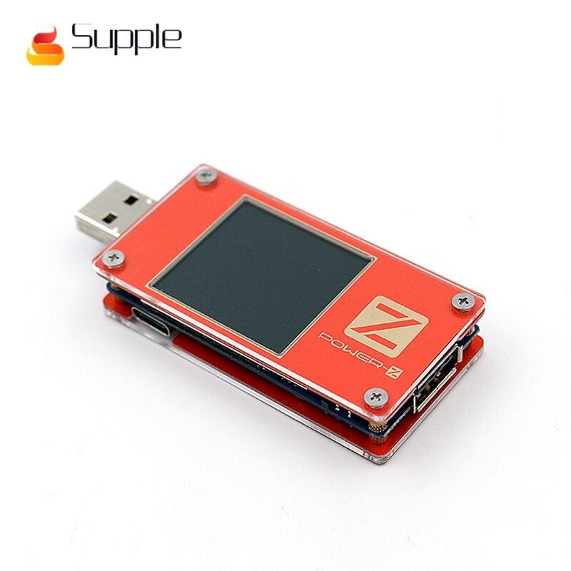 Supple ChargerLAB POWER-Z USB PD tester QC3.0 2.0 Digital voltmeter Digital current amp volt Type-C KM001 meter power detector