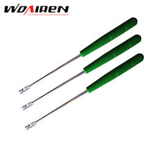 5 Pcs/lot Portable Fishing Tackle Hook Detacher Take Tool Remover Quickly Extractor Handle Useful Green Red About 15cm GJ-088