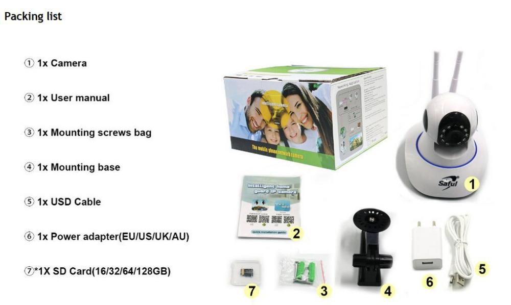 IP Camera WiFi Wireless