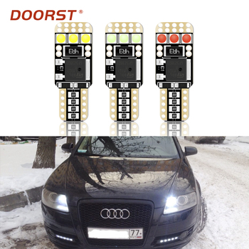 T10 Canbus LED W5W Clearance Parking Led Car Light For Audi 100 C3 C4 A1 A2 A3 Sedan 8P 8V 8L 8VA 8PA A7 Sportback A8 D5 4D 4H image