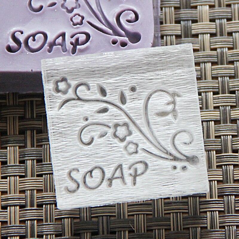 ᐅEnvío Gratis natural hecho a mano de acrílico jabón sello capítulo ...