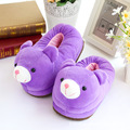 Package follow with cotton slippers lovely female shoes warm winter month thick non slip bottom in Home Furnishing indoor slippe