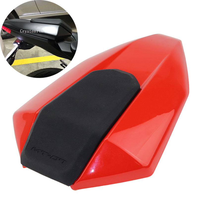 New Arrival Red Motorcycle Rear Seat Cover Cowl Fairing For 2013-2017 Yamaha FZ-07 MT-07 FZ07 MT07 2013 2014 2015 2016 mt07 mt 07 rear seat cover cowl for yamaha mt 07 fz 07 fz07 2013 2014 2015 2016 2017 blue carbon fiber black rear seat cowl