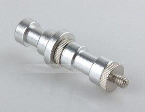 Image 3 - 5In1 1/4 ila 3/8 erkek dişi adaptör vida kamera tripodu topu kafa Monopod flaş ışığı standı montaj aksesuarları [hiçbir izleme]