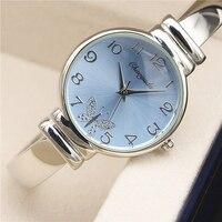 New Montre 2015 Fashion Casual Clock Silver Bracelet Watch Women Watches Women S Elegant Quartz Wrist